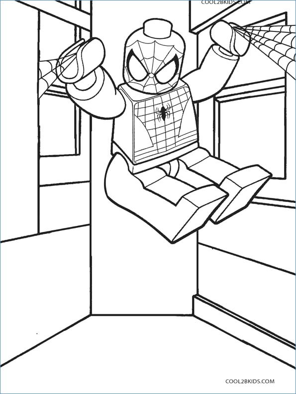 595x790 Batman Inside Batmobile Coloring Page