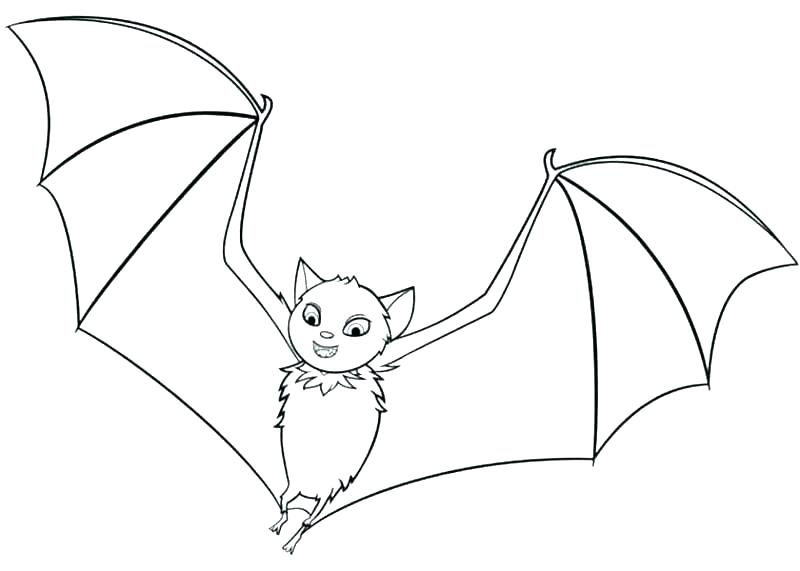 800x571 Bat Coloring Pages Bat Coloring Pages Free Printable Cartoon Bat