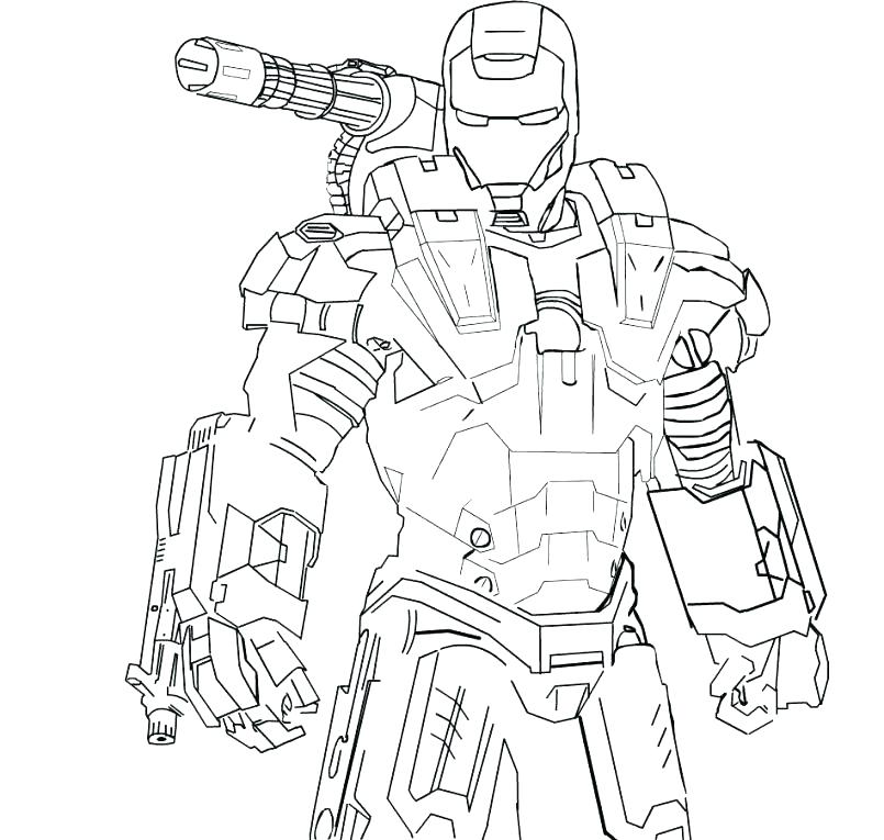 805x765 War Machine Coloring Pages War Machine Coloring Pages War Machine