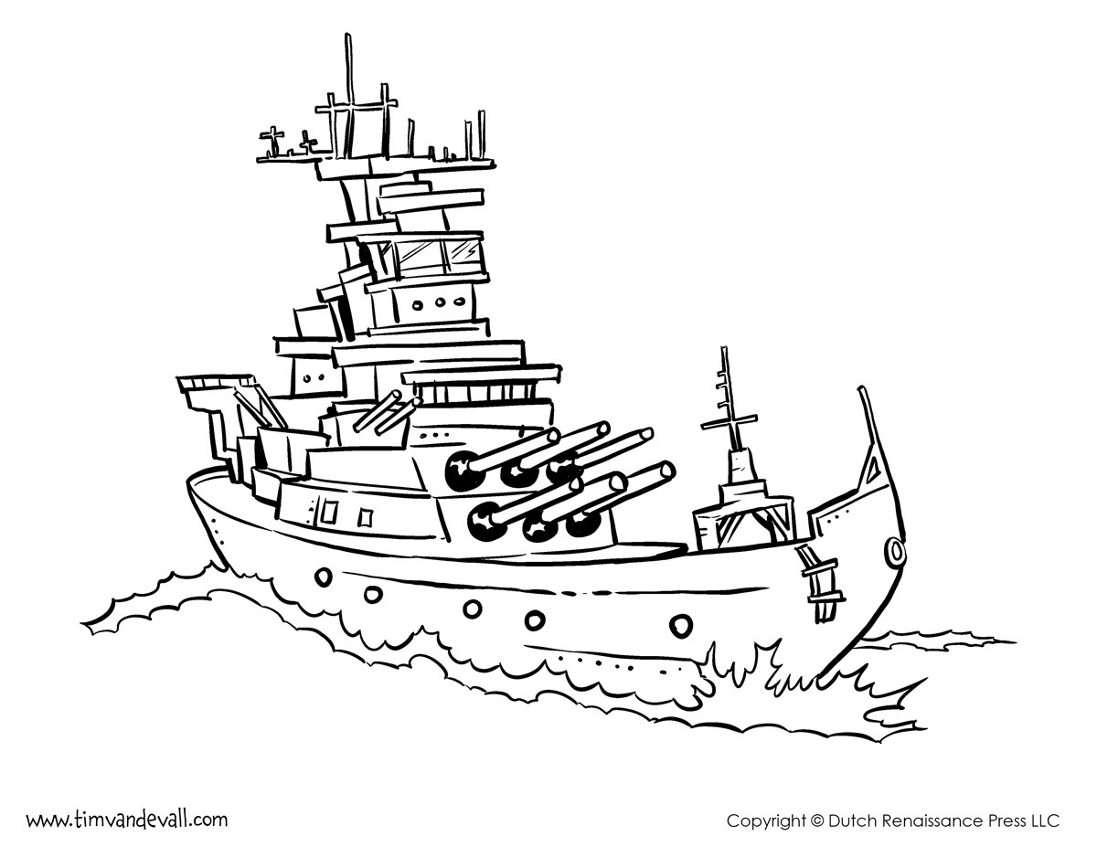 1200x927 Battleship Coloring Pages Thatswhatsup