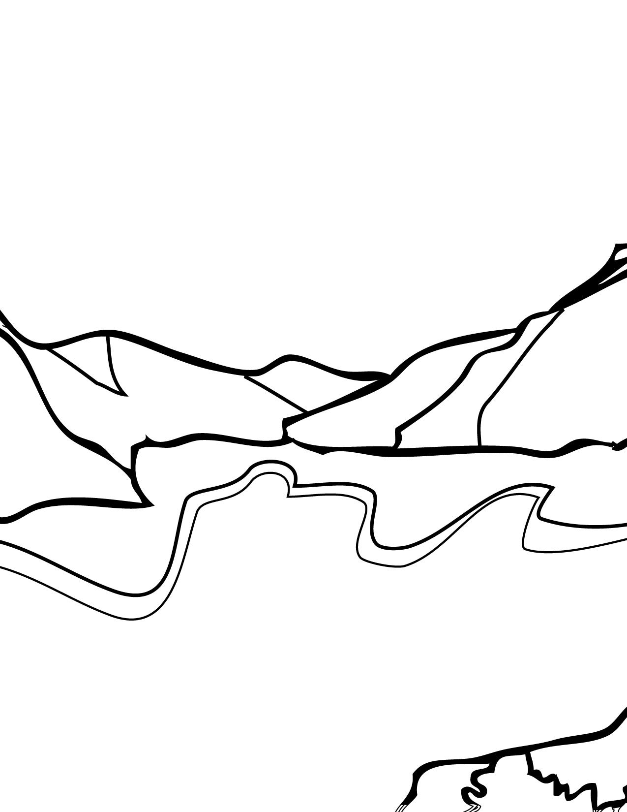 1275x1650 Glacier Bay Coloring Page