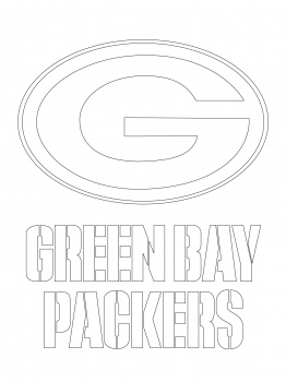262x350 Green Bay Packers Coloring Pages Green Bay Packers Logo Coloring