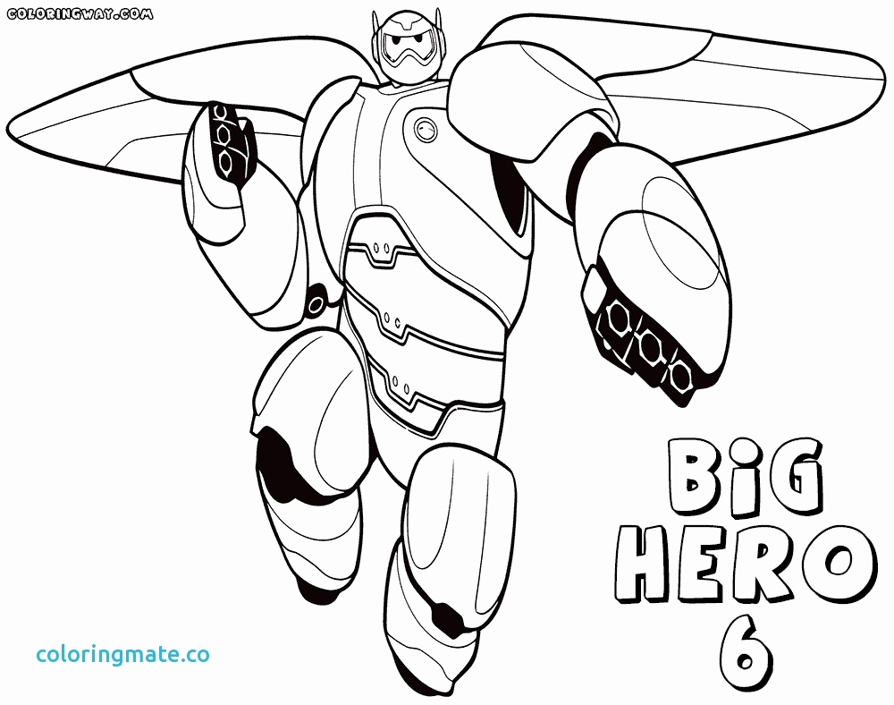 the best free baymax coloring page images download from