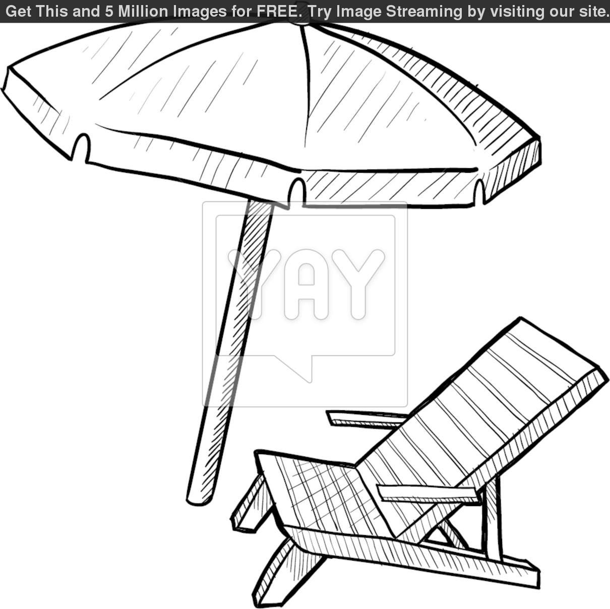 1210x1207 Awesome Coloring Beach Chair Pic Of Page Trends And Ideas Beach