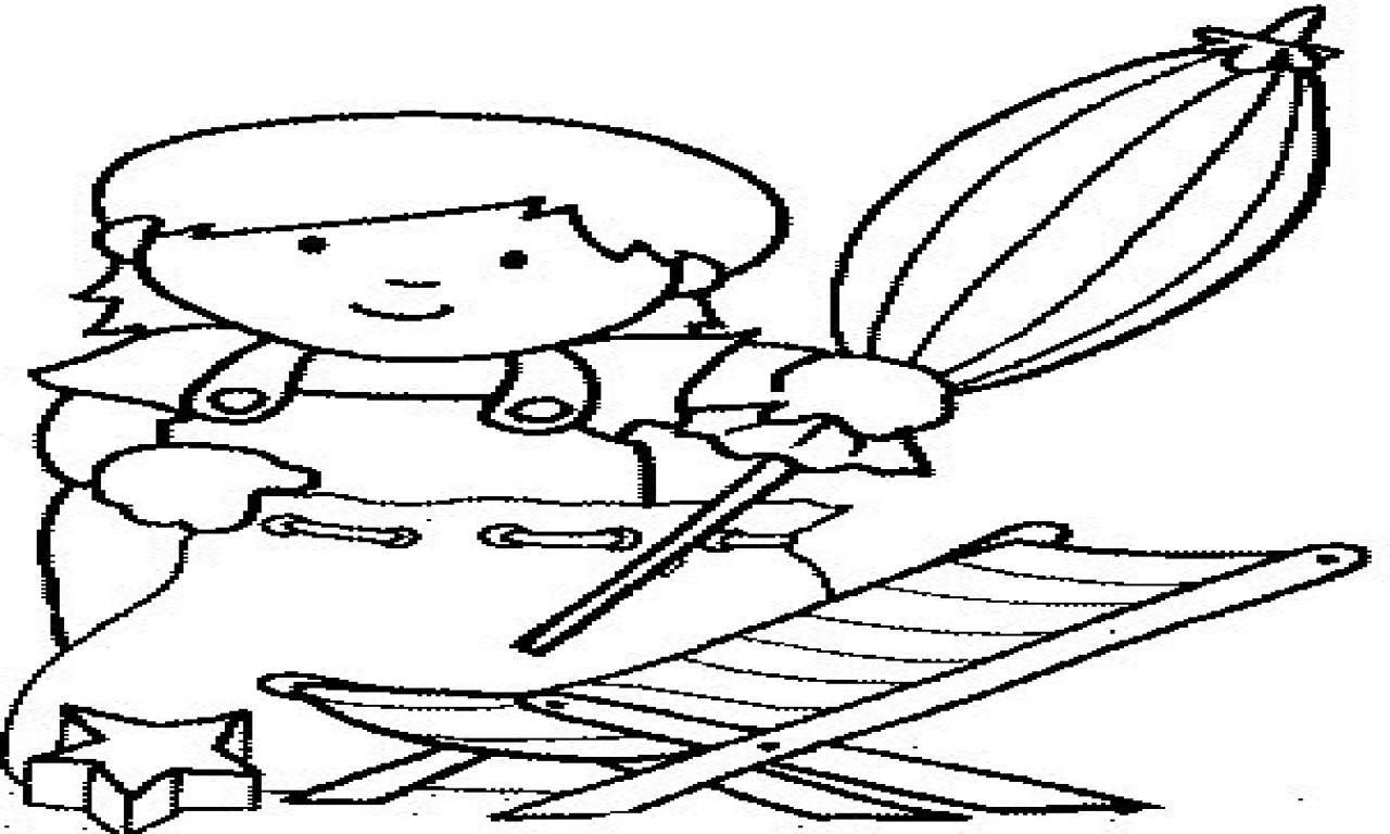 1280x768 Beach Chair Coloring Pages