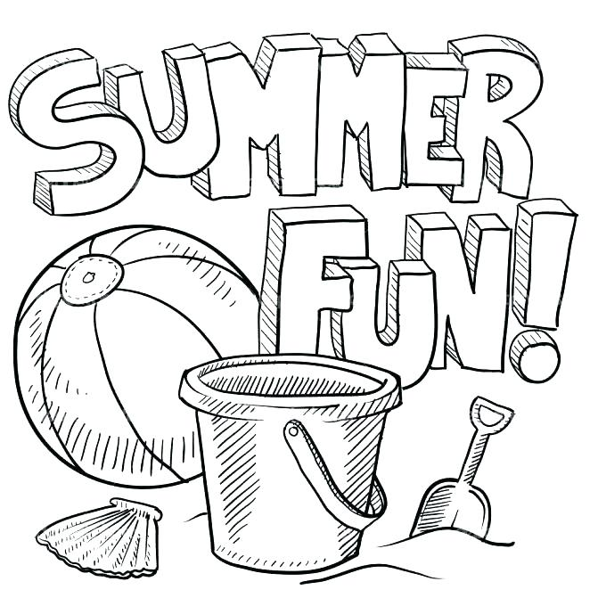 671x671 Printable Beach Coloring Pages Best Of Of Free Printable Summer