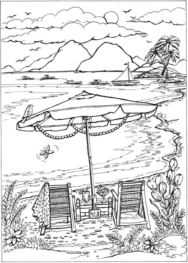 650x909 Printable Summer Coloring Pages Awesome Adult Coloring Pages