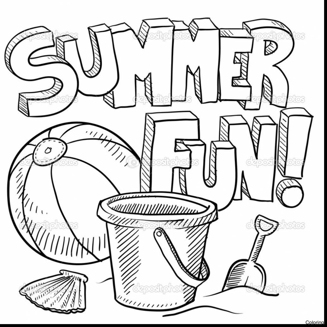 1126x1126 Summer Coloring Pages For Adults Throughout In Summer Coloring