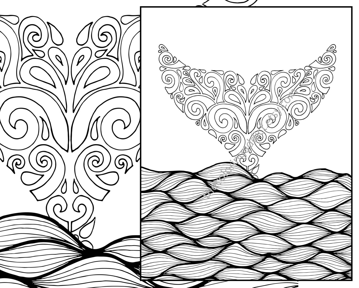 1500x1203 Printable Adult Coloring Pages Beach Printable