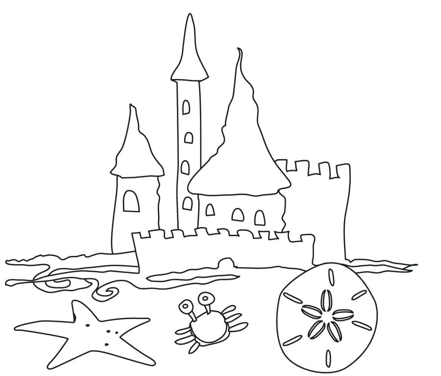 900x767 Download Beach Coloring Pages Beach Coloring Pages Adults