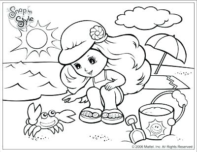 400x309 Beach Printable Coloring Pages