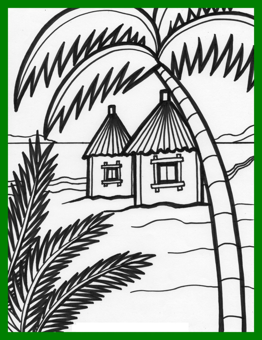 1064x1379 Best Beach House Coloring Pages Http Coloringoutline Pict