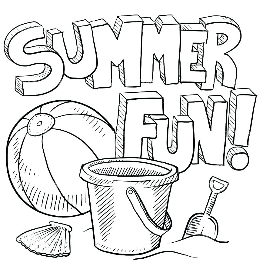 878x878 Coloring Page Beach Coloring Page Beach Summer Beach Coloring Page