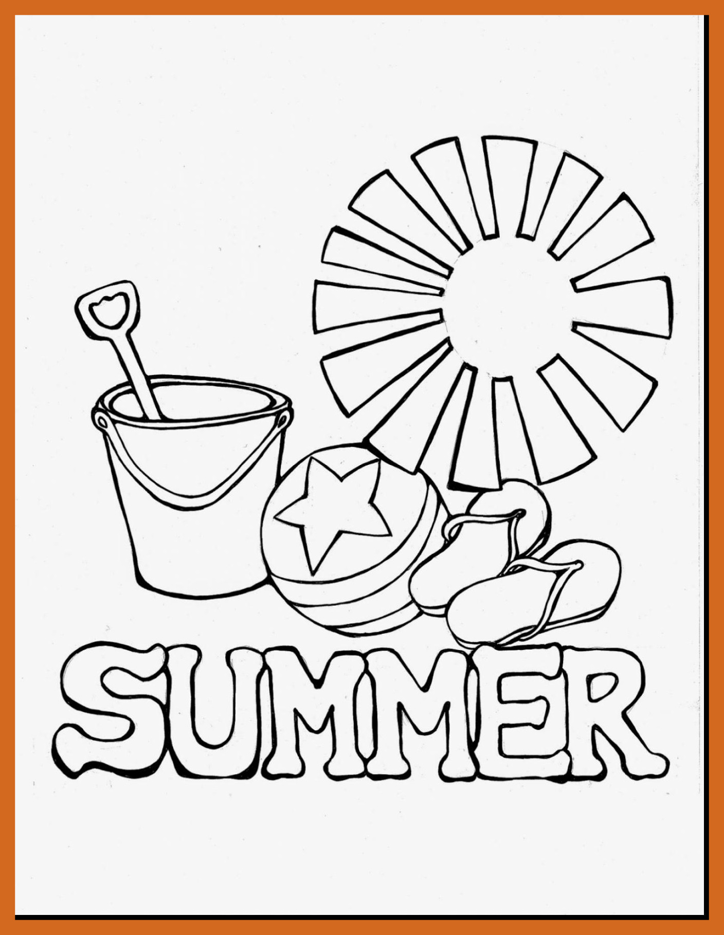 1408x1818 Fascinating Imagination Beach House Coloring Pages With Summer Pic