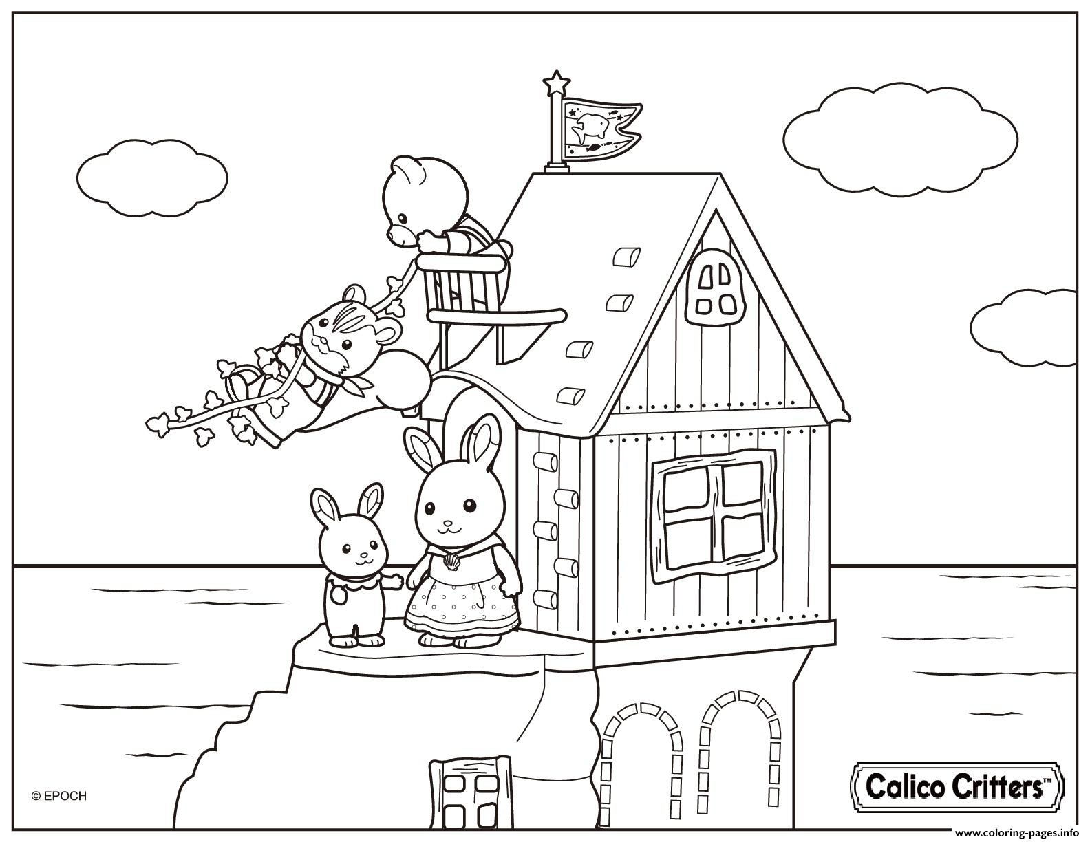 1584x1224 Unique Beach House Coloring Pages Free Coloring Pages