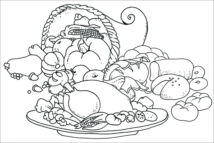 825x550 Food Pyramid Coloring Pages For Preschool Junk Various Page Beach