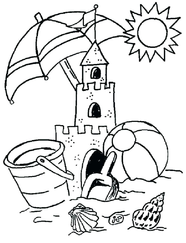 736x963 Printable Beach Coloring Pages Printable Beach Coloring Pages Free