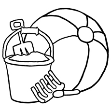230x230 Top Free Printable Beach Ball Coloring Pages Online