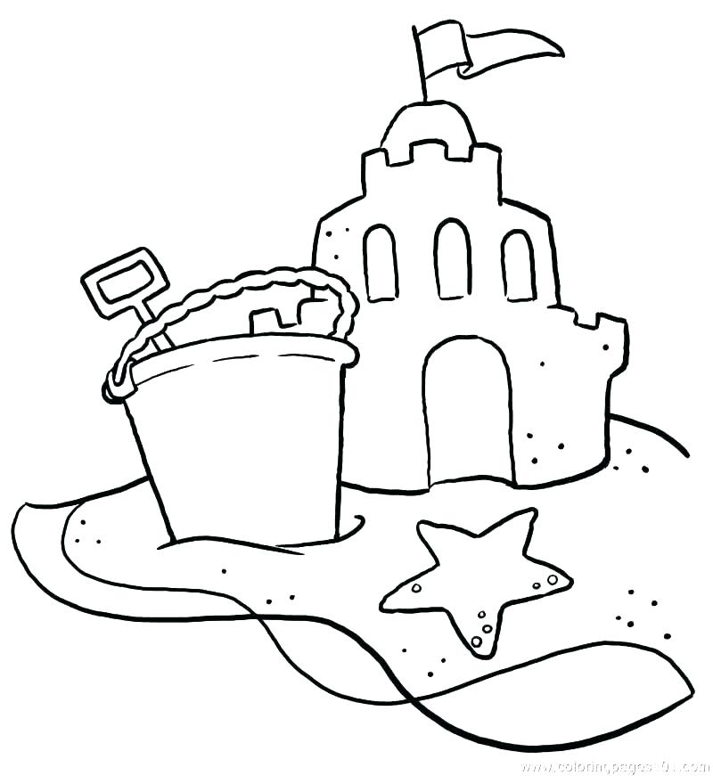 800x871 Coloring Page Beach Beach Coloring Pages For Kids Beach Party