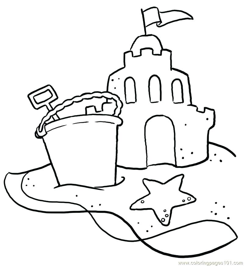 800x871 Coloring Pages Of Beach Scenes Coloring Page Beach Beach Scene