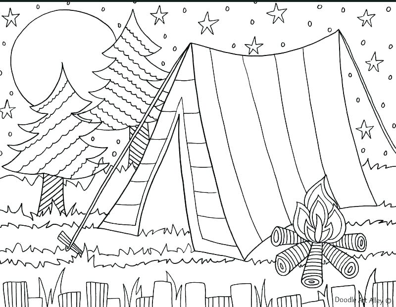 Beach Theme Coloring Pages