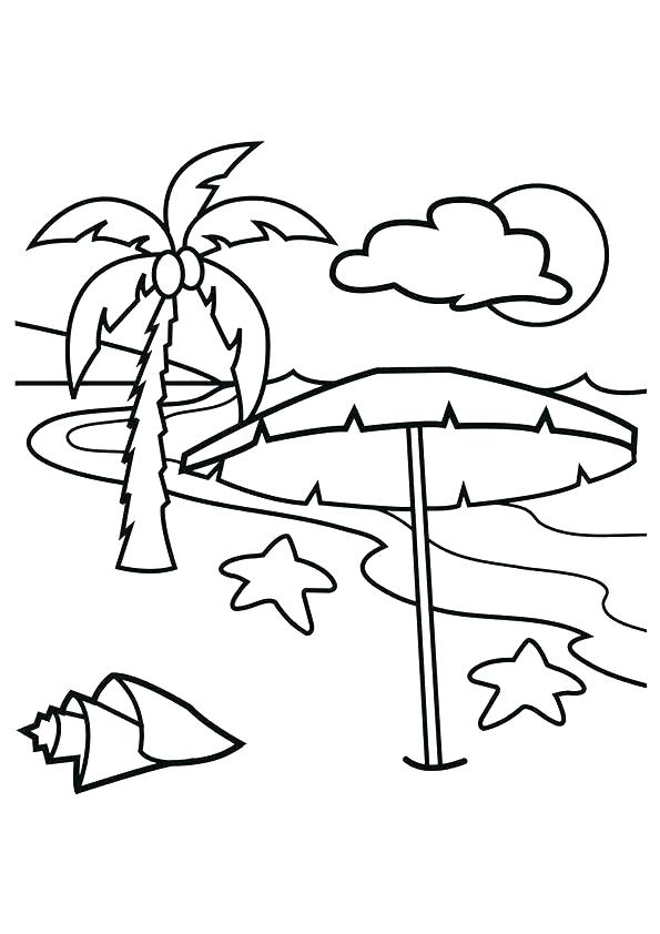 595x842 Coloring Pages Beach Beach Ball Coloring Page Coloring Pages Beach