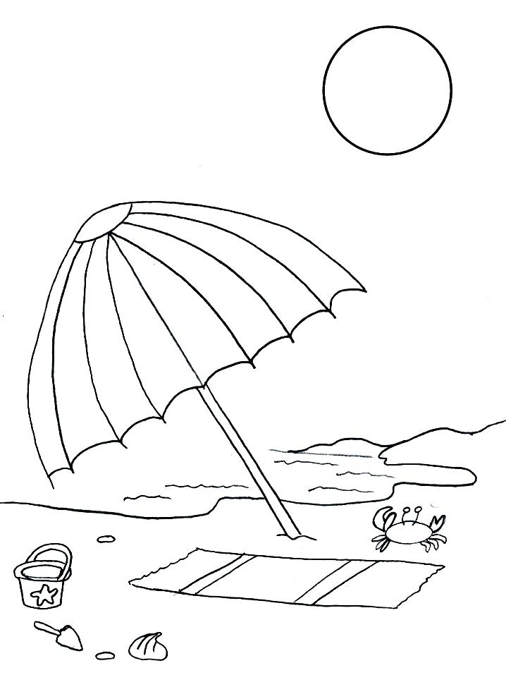 718x957 Fun Free Printable Summer Coloring Pages For Kids Good Ones Summer