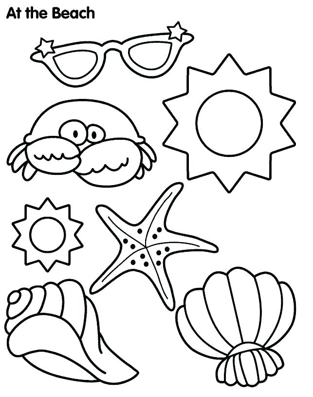 643x815 Summer Theme Coloring Pages Summer Themed Coloring Sheets For Kids