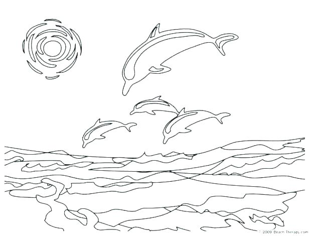 618x470 Beach Printable Coloring Pages