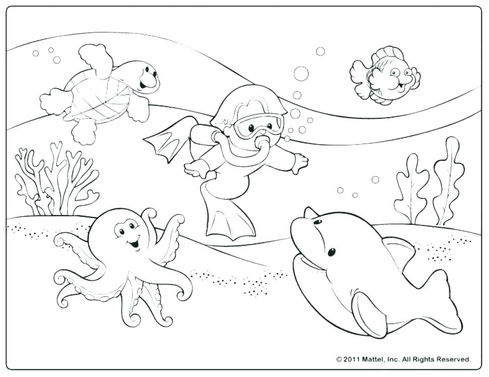 970x749 Beach Printable Coloring Pages Coloring Pages Beach Beach Coloring