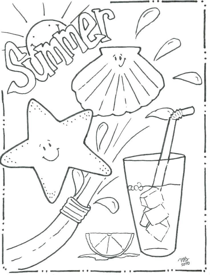 736x962 Coloring Pages Beach Coloring Page Beach Coloring Page Beach Beach
