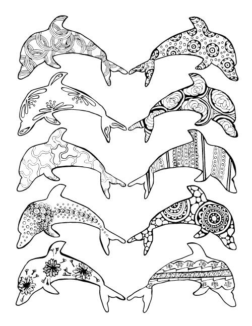 500x647 Sea Themed Coloring Pages For Adults Adult Coloring, Cross