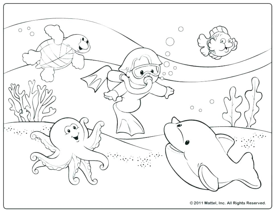 970x749 Sport Coloring Pages Beach Sports Themed Coloring Sheets
