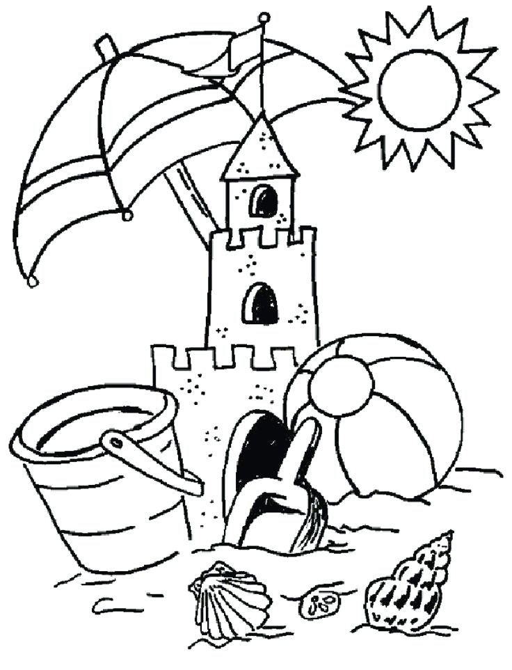 736x963 Beach Coloring Pages Printable Coloring Pages Collection