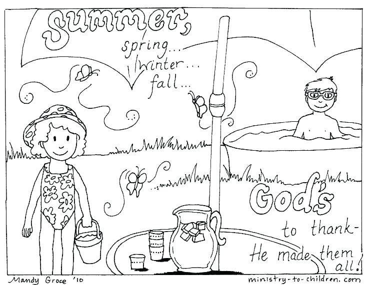 736x571 Beach Themed Coloring Pages Coloring Pages For Summer Beach Scene