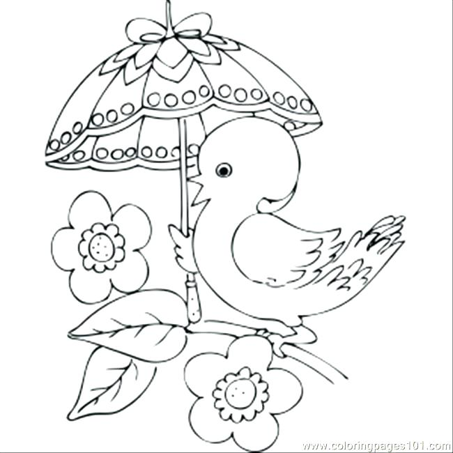 650x650 Beach Umbrella Colouring Page Coloring Pages Toys Chick With Fancy