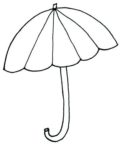 396x470 Coloring Pages Umbrella Coloring Pages Beach Umbrella Coloring