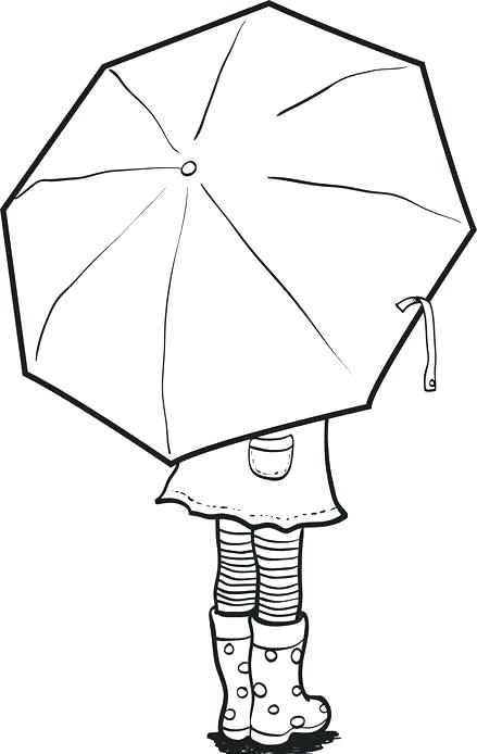439x694 Free Beach Umbrella Coloring Pages Page