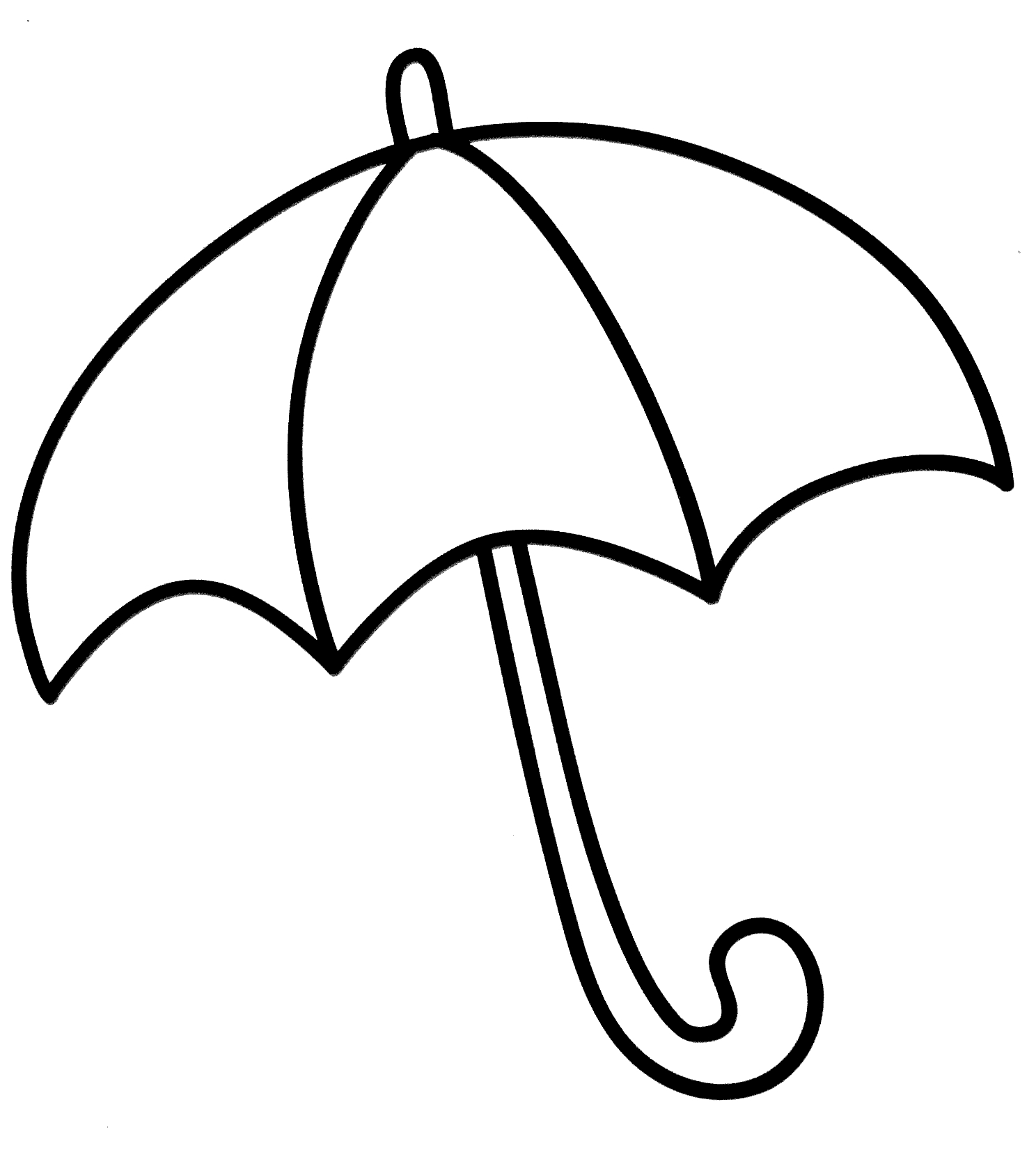 1488x1662 Beach Umbrella Coloring Pages