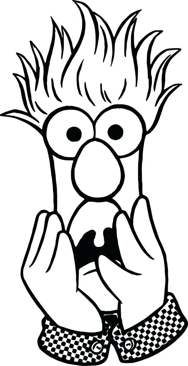 Beaker Coloring Page At Getdrawings Com Free For Personal Use