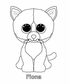 236x282 Print Surf Beanie Boo Coloring Pages Brico Lina