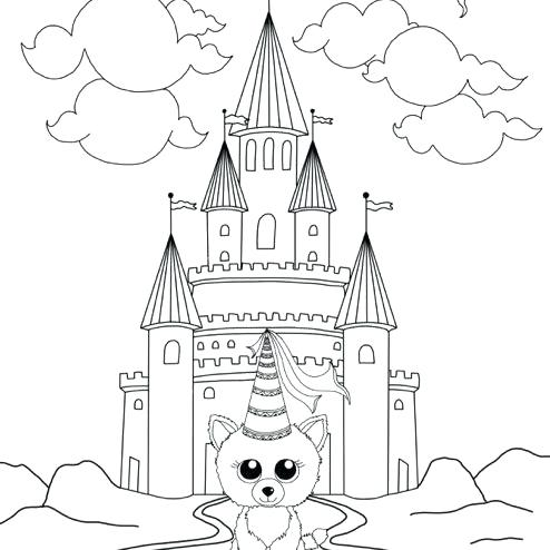 494x494 Beanie Boo Coloring Pages Beanie Boo Coloring Pages O King Boo