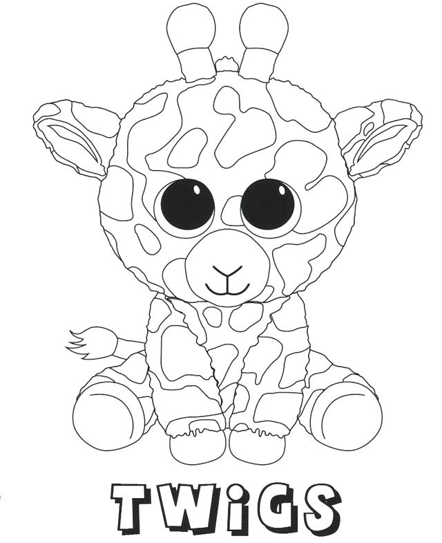 640x785 Beanie Boo Coloring Pages Twigs Beanie Boo Coloring Sheets Beanie