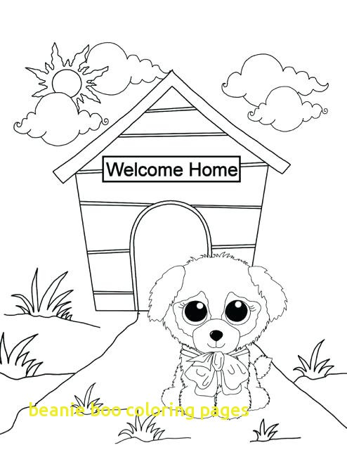 494x640 Beanie Boo Coloring Pages With Beanie Boo Coloring Pages Tafsuit