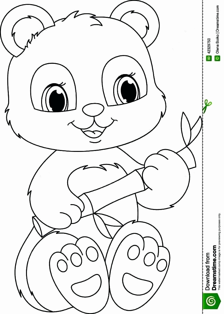 740x1038 Beanie Boo Coloring Pages Only Pics Cute Panda Coloring Pages Free