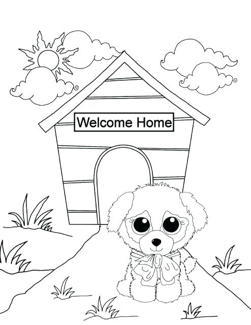 494x640 Doctor Coloring Page Photo To Coloring Page Beanie Boo Coloring