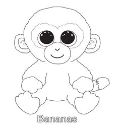 236x260 Ty Beanie Boo Coloring Pages Download And Print For Free Boos