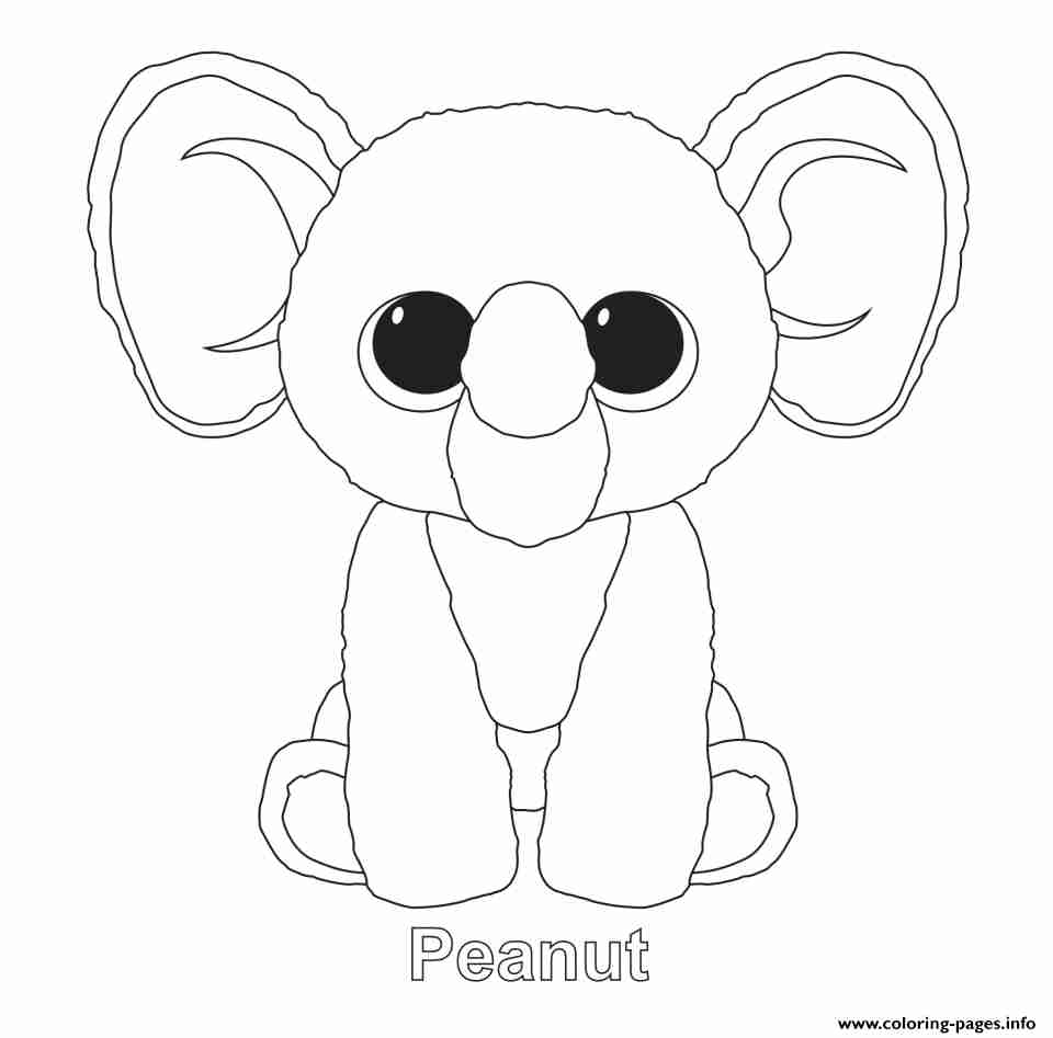 960x947 Beanie Boo Coloring Pages Free Printable Pleasing Beanie Boo