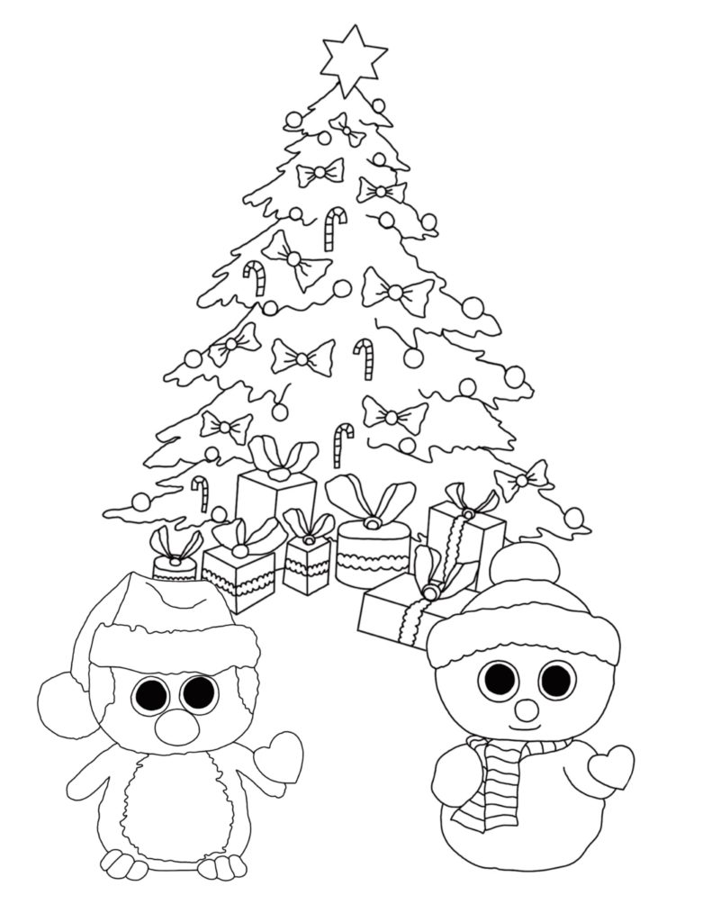 791x1024 Beanie Boo Coloring Pages