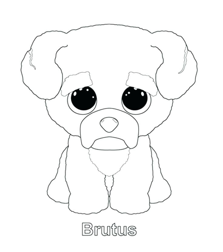 736x830 Beanie Boo Coloring Pages Beanie Boo Coloring Pages King Boo